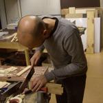 houtbewerken bij de houtbewerkingscursus