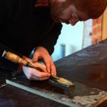 workshop beitels slijpen van de houtbewerkingscursus