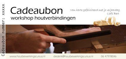 cadeubon workshop houtbewerking