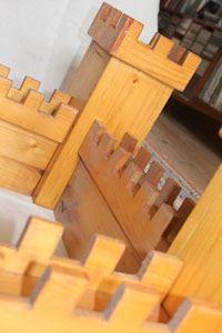houten speelgoed kasteel zelf maken