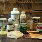 afwerk producetn voor het behandelen van hout