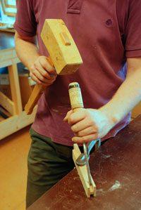 ambachtelijk houtbewerken