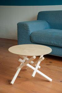 maak je eigen salon tafel tijdens de workshop tafel maken